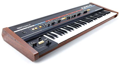 Synthesizer Roland Juno the roland juno series back to the future