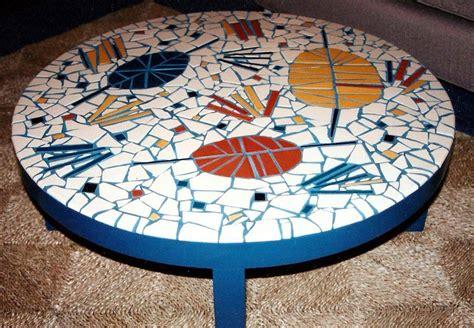 round mosaic pattern ideas coffee table design ideas best coffee table ideas