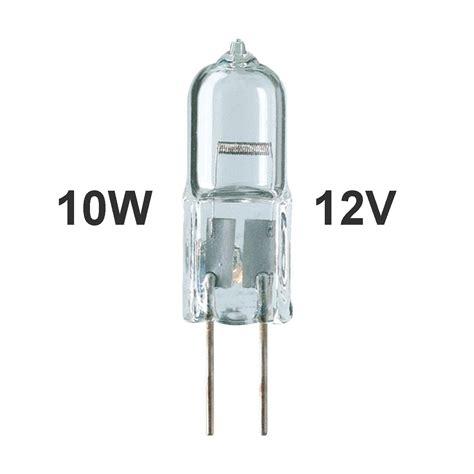 12v 10w halogen l 1 00 10w halogen g4 bi pin 12v low voltage