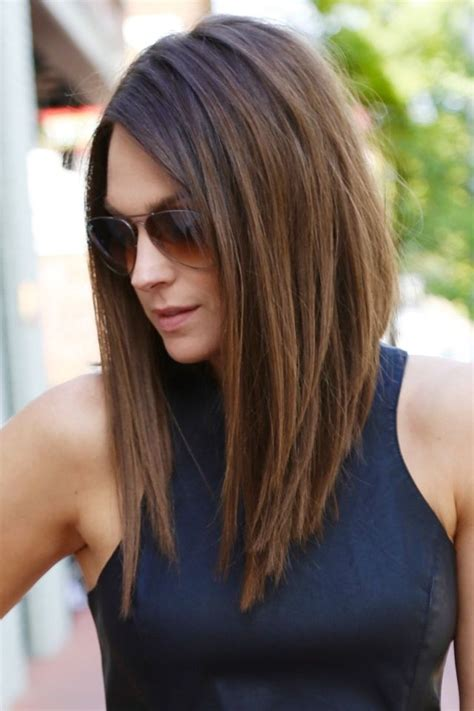 cut sholder lenght hair upside down 1000 ideas about long bob hairstyles on pinterest