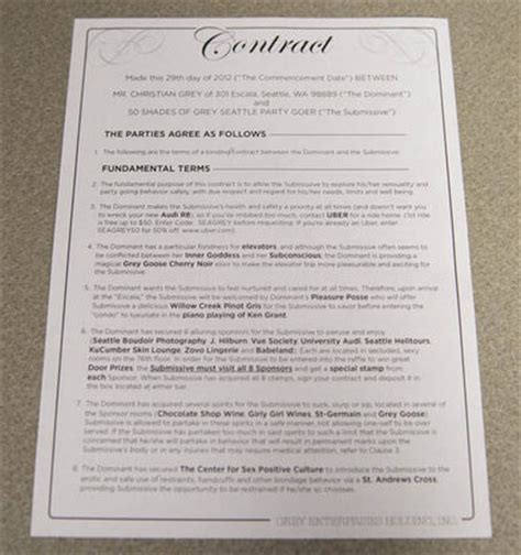 50 Sheds Of Grey Pdf by 50 Shades Of Grey Contract Negotiation Pdf