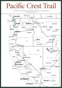 pacific crest trail oregon map pacific crest trail oregon map