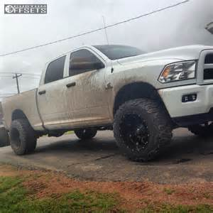 Dodge Leveling Kit Wheel Offset 2014 Dodge Ram 2500 Aggressive 3 5