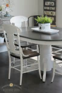 Painted Kitchen Furniture 17 Best Ideas About Painted Kitchen Tables On Paint Kitchen Tables Paint A Kitchen