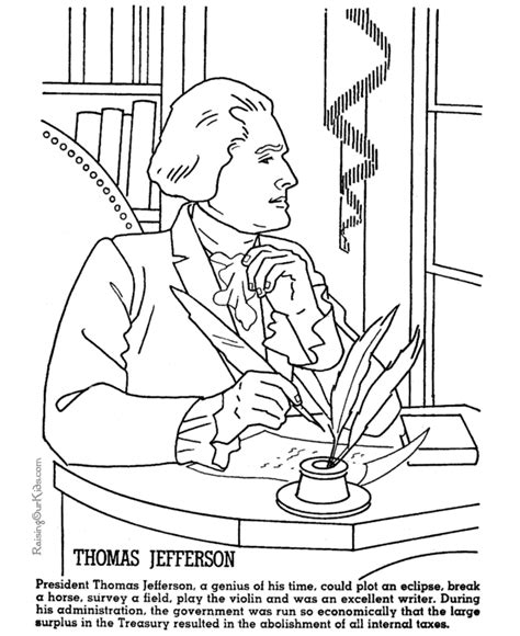 thomas jefferson facts and pictures