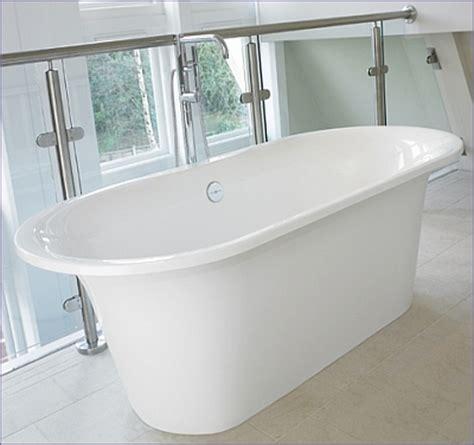 badewanne restposten freistehende badewanne monaco aus quarrycast in hochglanz
