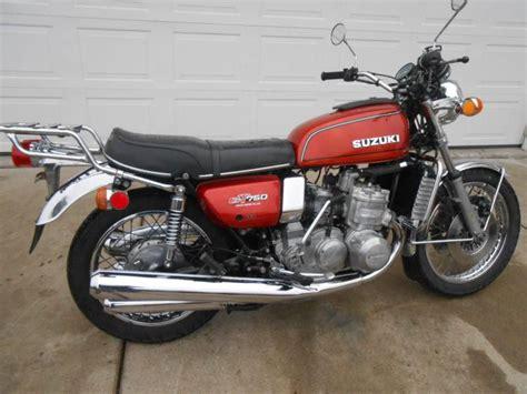 Gt750 Suzuki For Sale 1976 Suzuki Gt750 Waterbuffalo For Sale On 2040 Motos