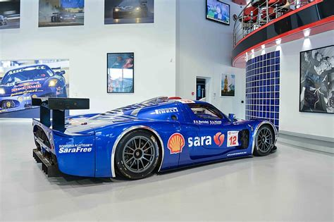 maserati garage put this chionship winning maserati mc12 gt1 in your