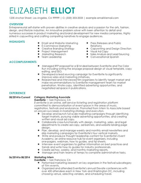 attention detail resume
