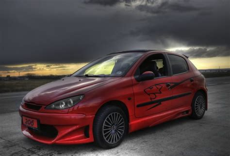 peugeot 206 tuning cars tuned peugeot 206 tuned