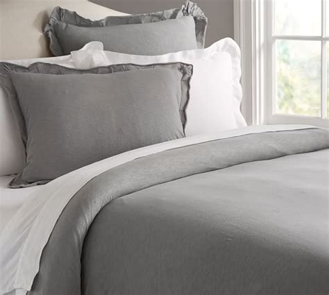 jersey knit duvet cover jersey knit duvet cover sham pottery barn