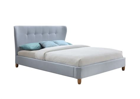 blue bed frame blue bed frame blue bed frame slub velvet denouement