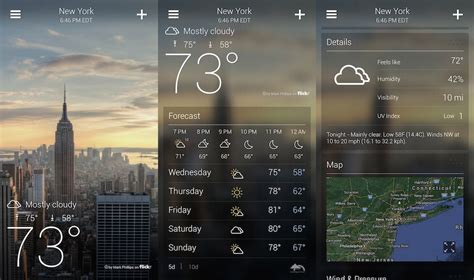 android weather best weather app for android theunlockr