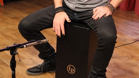 cajon how to play how to play cajon with mike bennett youtube
