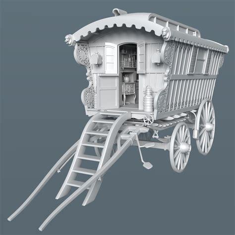 free download cgtrader models reading wagon 3d model obj blend cgtrader