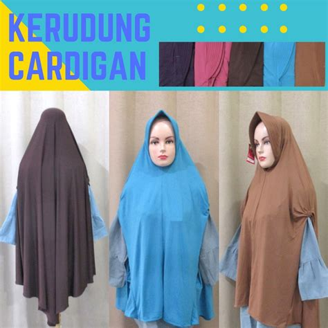 Sentra Grosir Jilbab produsen kerudung cardigan dewasa syari murah terbaru 30ribu