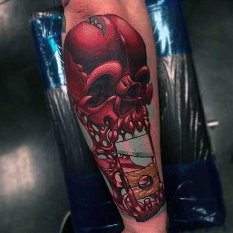 new school alien tattoo 100 new school tattoos for men modern ink design ideas
