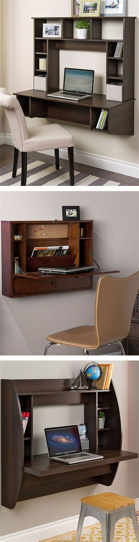 Floating Office Desk Best 25 Wall Mounted Desk Ideas On Pinterest Floating Desk Floating Wall Desk And Wall