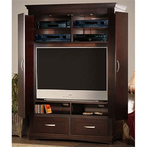 Armoire Entertainment Centers by Innovative Soho High Definition Cabineted Armoire