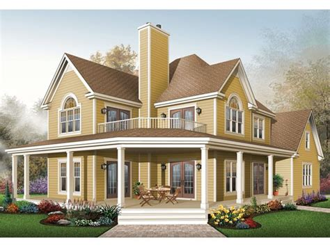 country two story home with wrap around porches maverick laurel hill country farmhouse house plans farmhouse