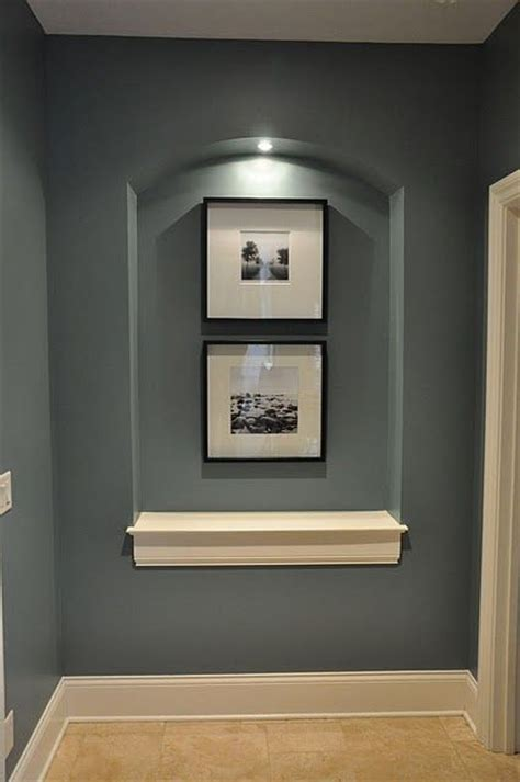 mineral deposit sherwin williams color wall niches nooks and pictures