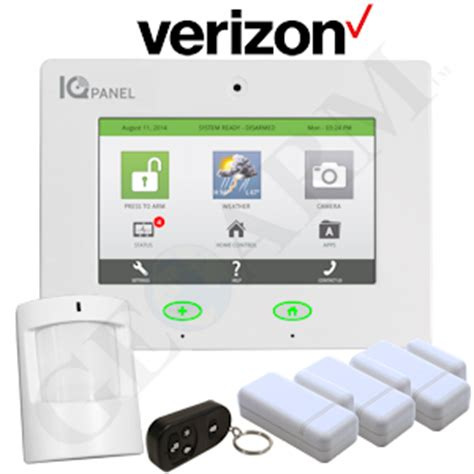 qolsys iq panel wireless security system for verizon