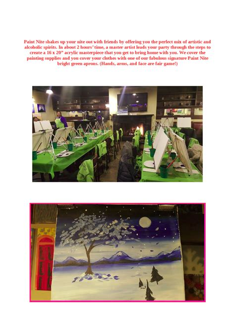 paint nite yonkers ny paint nite in yonkers restaurants authorstream
