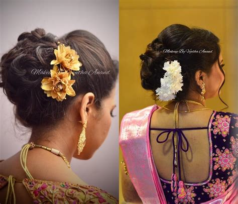 Indian Bridal Hairstyles With Flowers by South Indian Wedding Hairstyles With Flowers Hairstyles