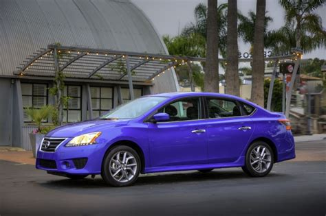 2015 Nissan Sentra Sr In Metallic Blue Color Static