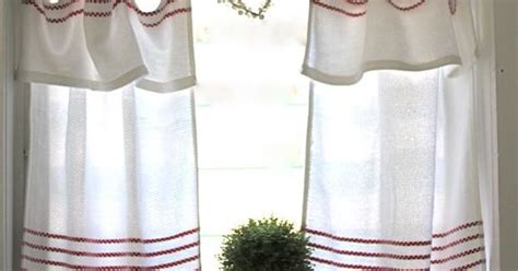 white curtains with red trim sweet cafe curtains with red trim curtains pinterest