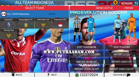 game sepak bola android mod apk download fts mod pes 2018 apk data obb terbaru for android