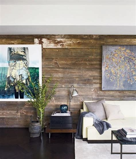 Wood Walls In Living Room | 20 charming living rooms with wooden panel walls rilane