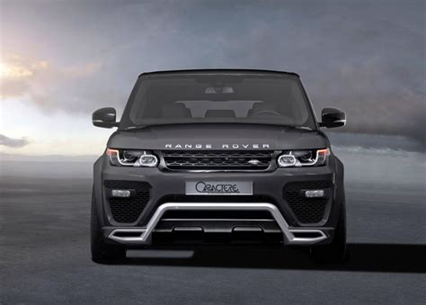 range rover sport speed caractere exclusive tricks out the range rover sport