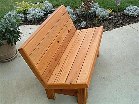 wood patio bench plans outdoor bench seat designs quick woodworking projects