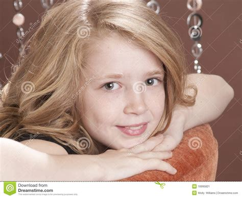 preteen cuties beautiful preteen model stock image image 16995821