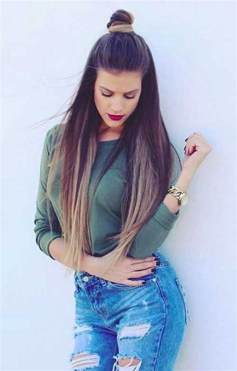 hairstyles for straight open hair different stylish hairstyles with straight hairs