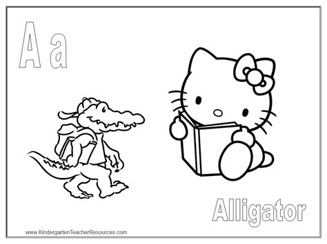 hello kitty coloring pages with letters free hello kitty coloring pages