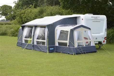 Kampa Caravan Awnings Kampa Classic Air Expert 380 Inflatable Caravan Porch Awning