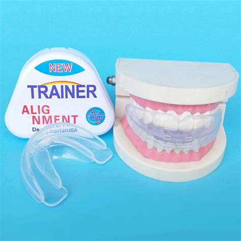 Orthodontic Retainer Teeth Trainer Alignment aliexpress buy 1pcs newest version no odor teeth braces dental tooth orthodontic appliance