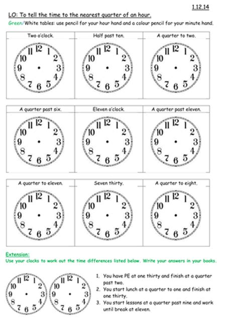 clock worksheets ks2 all worksheets 187 clock worksheets ks2 printable