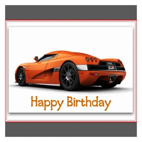 Car Birthday Cards For Happy Birthday Wishes With Cars