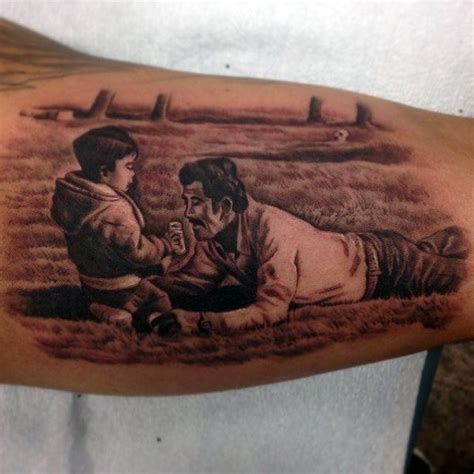 father and son tattoos top 50 best tattoos for manly design ideas