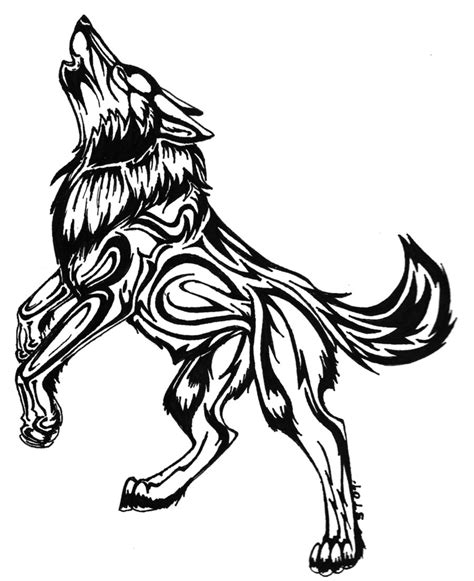wolf tribal tattoos wolf tattoos designs ideas and meaning tattoos for you