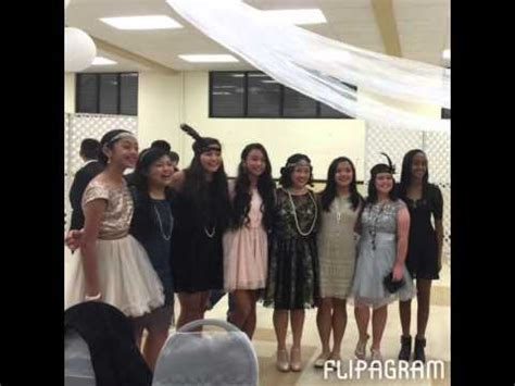 theme song in the great gatsby flipagram the 8th grade dance theme the great gatsby