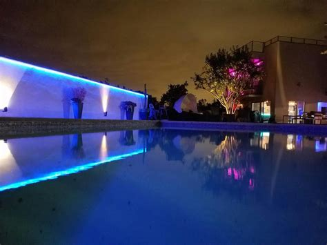 Ip65 Blue Outdoor Led Strip Lights Flexfire Leds Inc In Led Light Strips