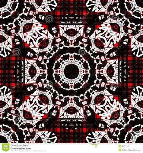 fotos blanco y negro y rojo mandala incons 250 til en color rojo blanco y negro