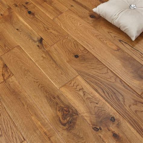 Platinum Series Solid Oak Flooring 18mm x 120mm Hand