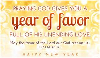happy new year and scriptures for a new year