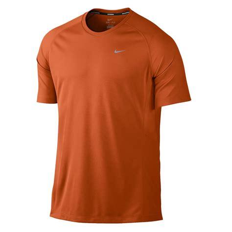 Tshirt Indo Runners 5 Highclothing nike miler uv mens running t shirt burnt orange