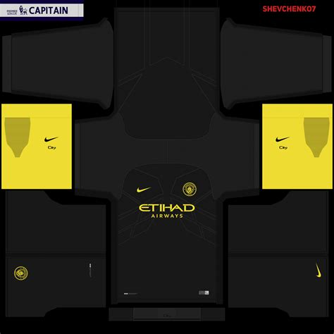Home Kit pes 2016 manchester city 16 17 home and away kit by